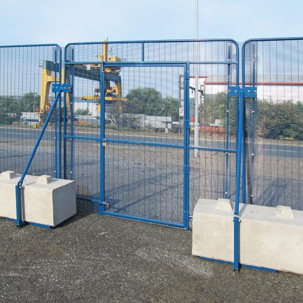 POLMIL® On-Ground Pedestrian Door Panel