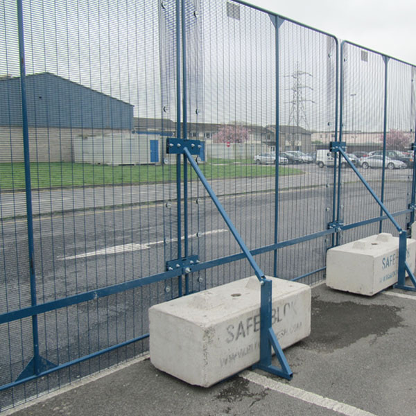 PAS 68:2010 Rated On-Ground Security Fence