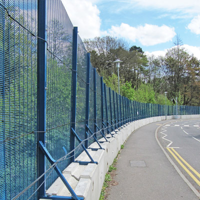 POLMIL® On-Ground Security Fence