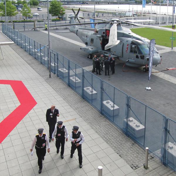 POLMIL® BASE Level On-Ground Security Fence