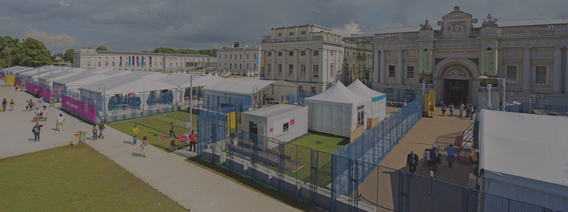 Official temporary security fencing supplier to the London 2012 Olympic venues