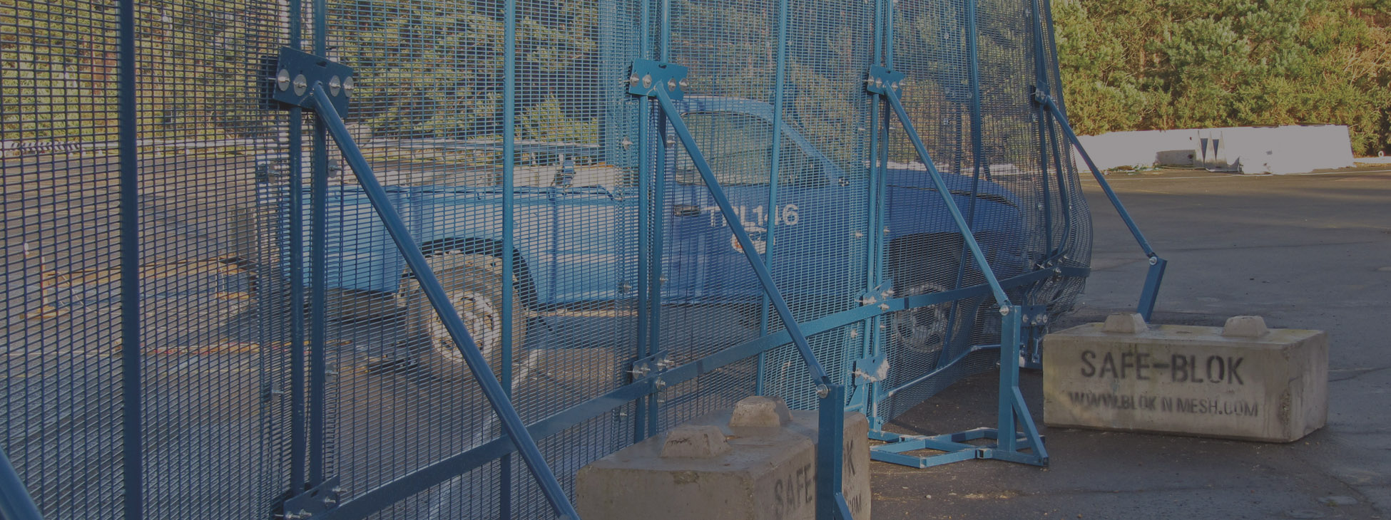PAS68 tested temporary security fencing systems